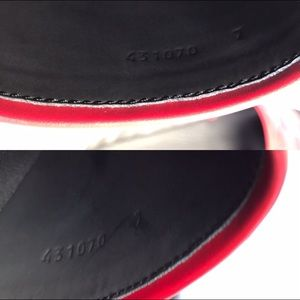 9f870b829f91d Gucci Shoes - Red Gucci slides